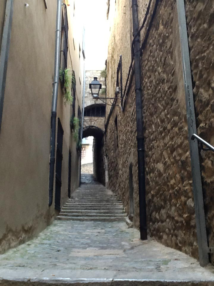 ancient Spanish city of Girona