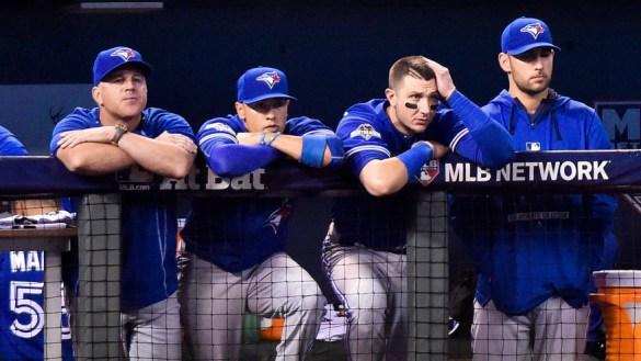 Toronto Blue Jays dugout