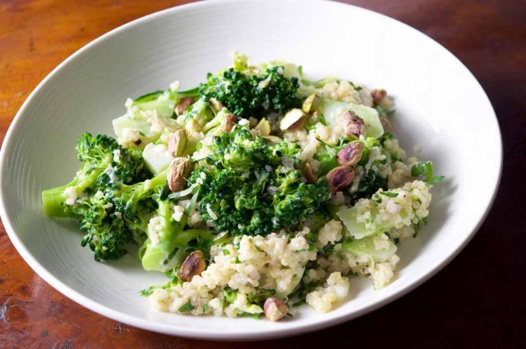 Broccoli Quinoa Salad Food Recipe