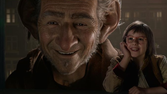 BFG movie spielberg