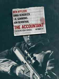 Seeing red ink: Ben Affleck in The Accountant