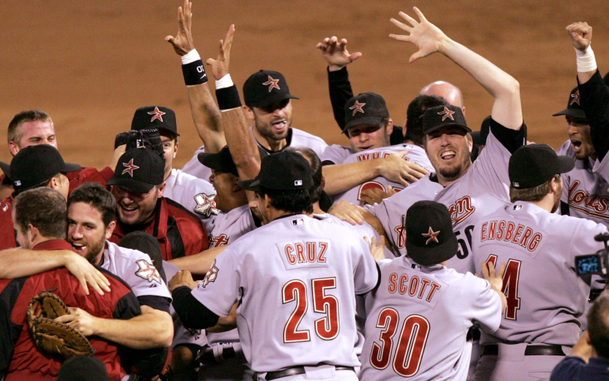 Astros Win World Series Mickleburgh