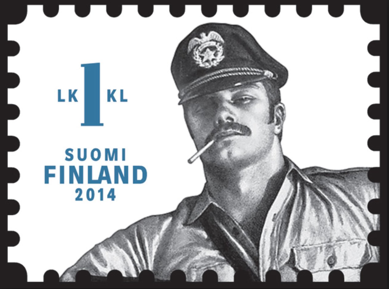 Finland stamp Tom Gay