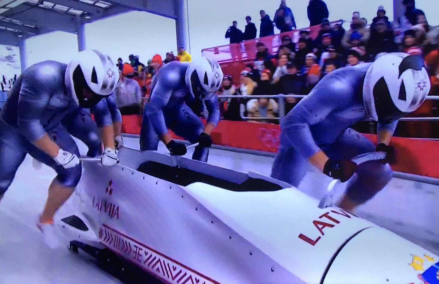 Team Latvia Bobsled