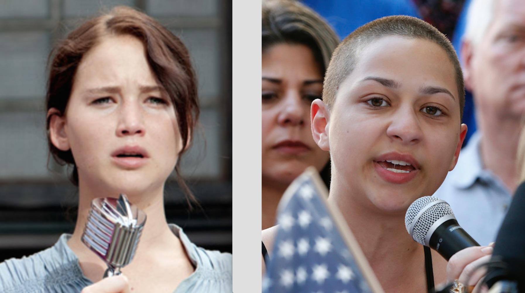 Katniss Everdeen Emma Gonzalez Young Warriors