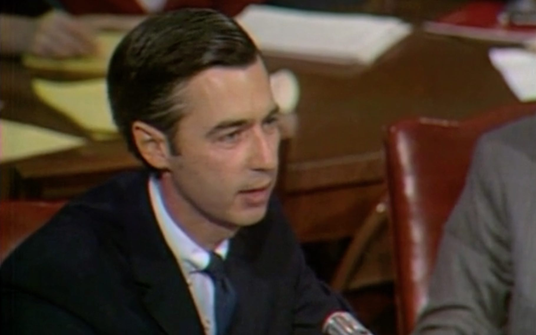 Fred Rogers US Senate Commerce Committee