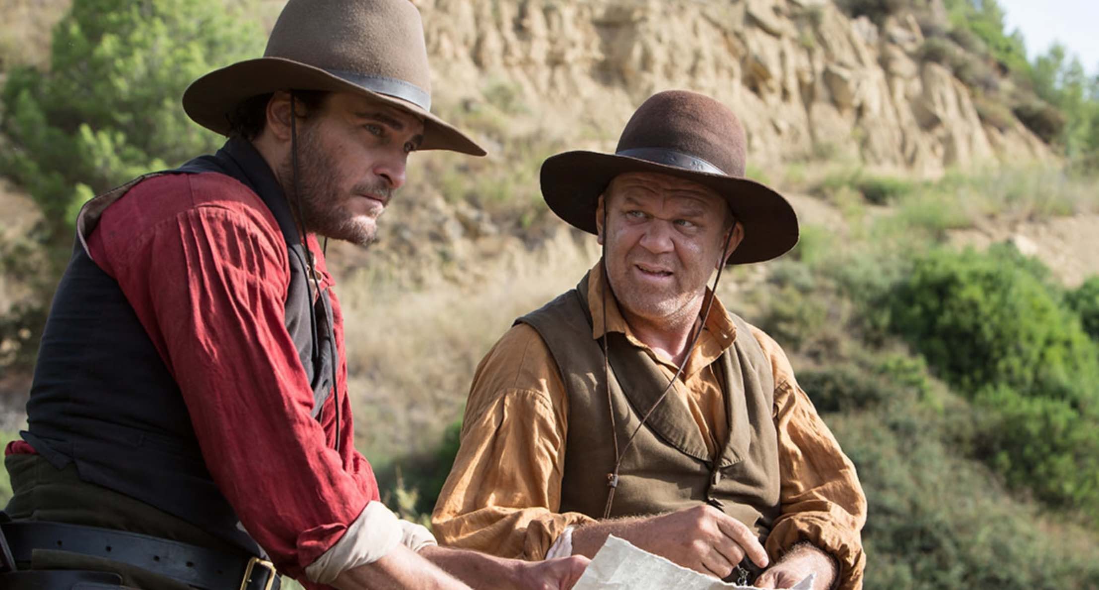 Sisters Brothers Audiard Movie Phoenix Reilly