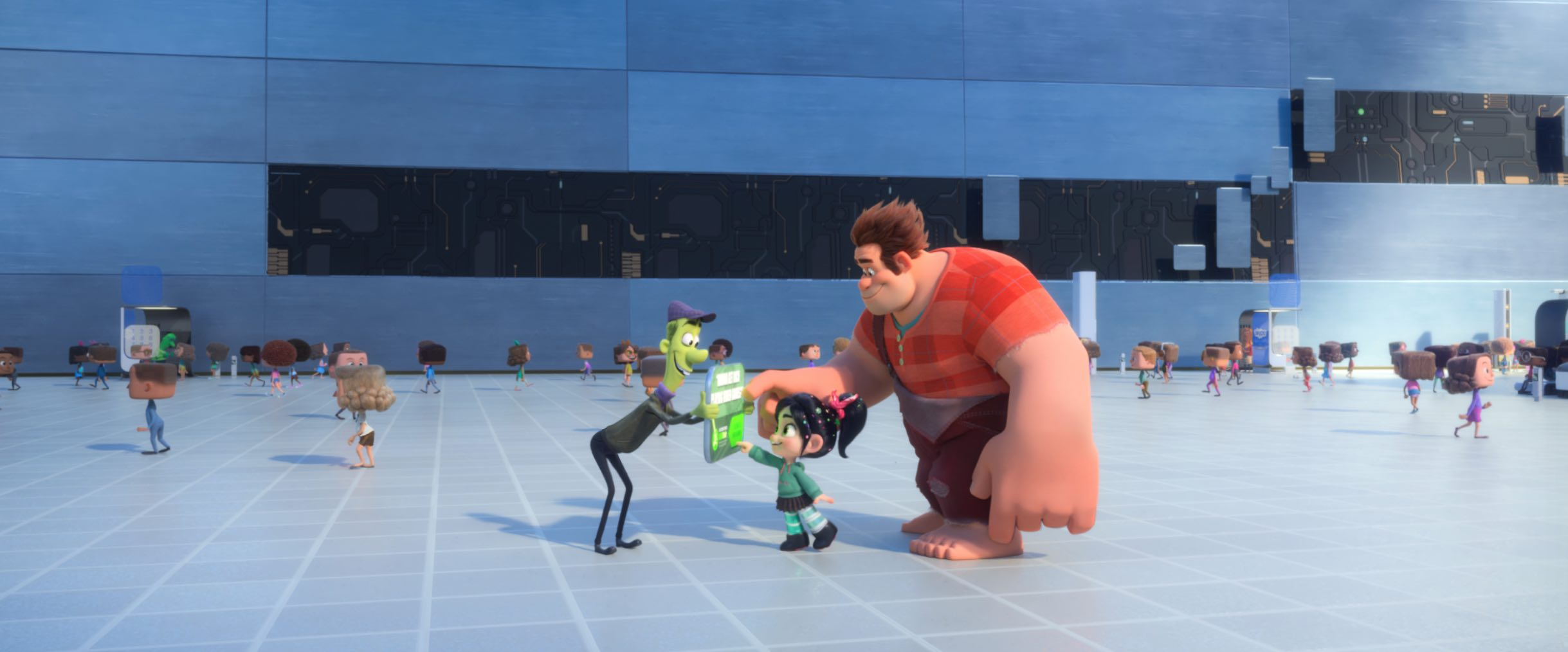 Ralph Breaks internet movie disney