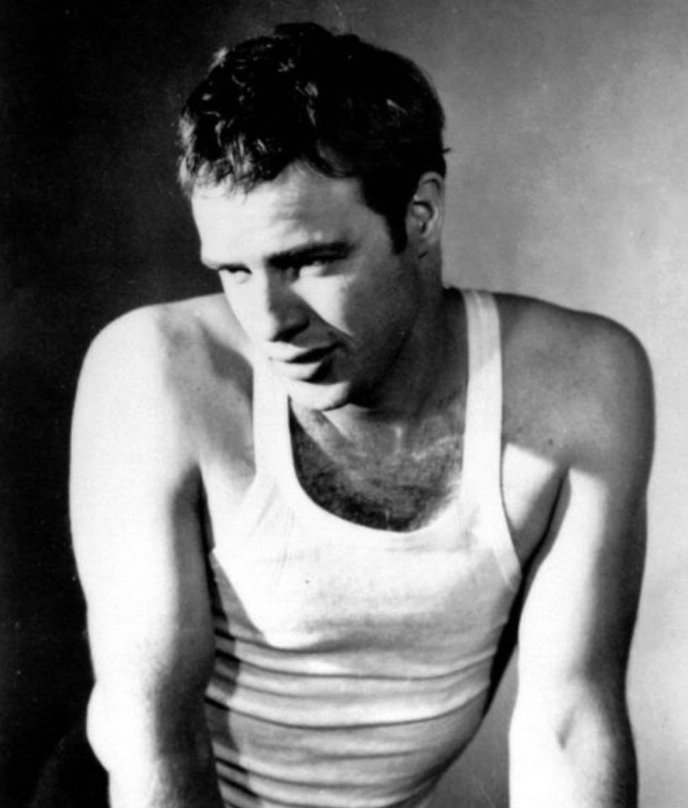 tank top marlon brando wife beater