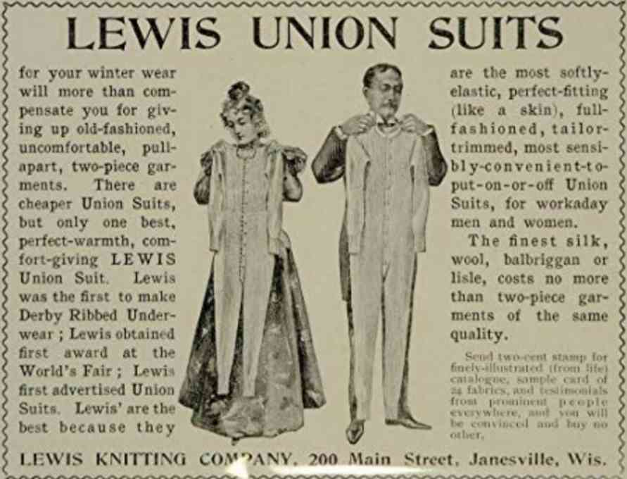 Union Suit underwear