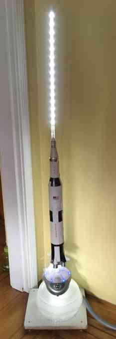 Saturn V Apollo XIII scent diffuser